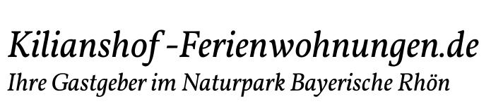 Ferienwohnungen und Ferienhäuser im Naturpark Bayerische Rhön